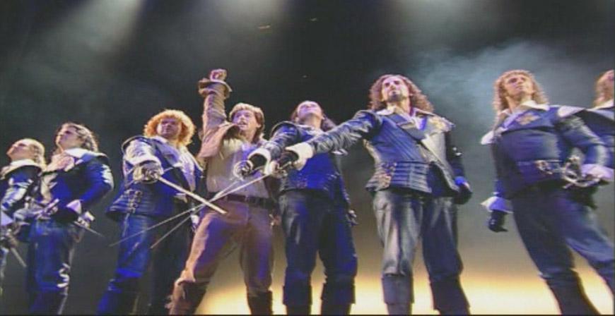 Theater des Westens -Die drei Musketiere